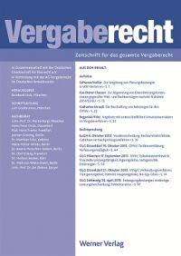 Cover VergabeR