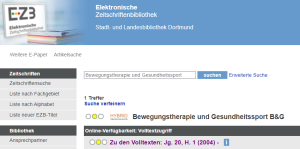 """Treffer """"B&G"""" in der EZB"""