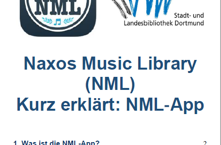 Klassik to go  dank der NML-App